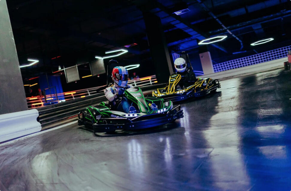 Black Star Karting Night Race Formula 1